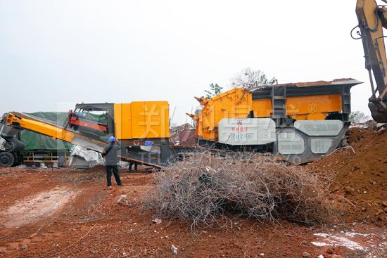 建筑垃圾制砖研发线
