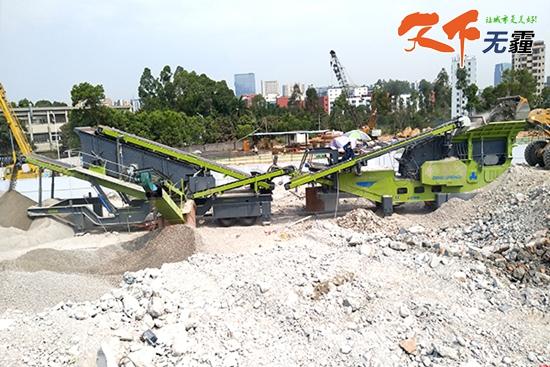 深圳市建筑垃圾处理现场