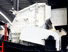 DPF建筑垃圾专用移动破碎站中的主机设备