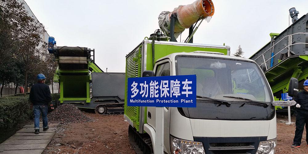 TDB多功能保障车在河南使用现场