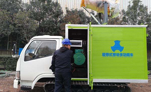 TDB多功能保障车在深圳使用现场