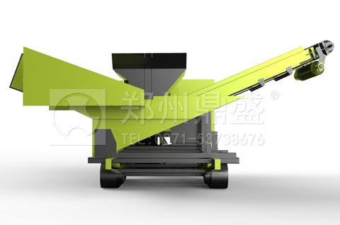 郑州鼎盛研发的履带式轻物质联合分选车